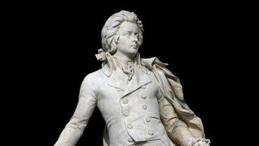 Statue de Mozart à Vienne, en Autriche
