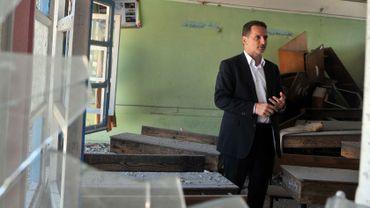 Le Suisse Pierre Krähenbühl est devenu commissaire général de l'Unrwa en mars 2014. Il pilote l'agence responsable des 5 millions de réfugiés palestiniens.