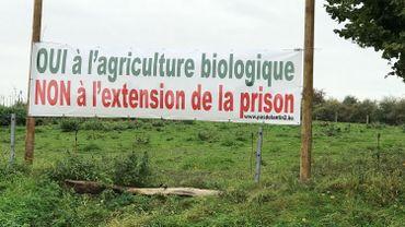 La mobilisation contre l'extension de la prison de Lantin s'intensifie