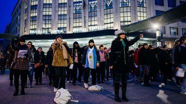 'Un violeur sur ton chemin' à Bruxelles :  une performance chilienne devenue virale