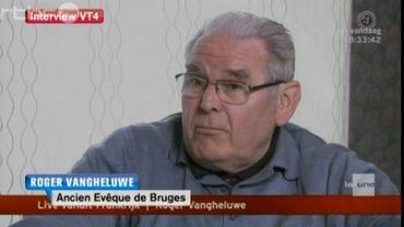 Roger Vangheluwe lors de son interview à VT4
