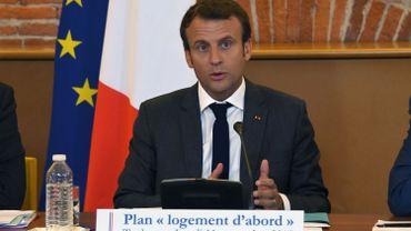 Emmanuel Macron affronte aujourd'hui son premier mouvement social