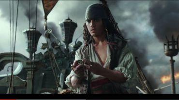 """Un jeune Jack Sparrow dans le nouveau trailer de """"Pirates des Caraïbes 5"""""""