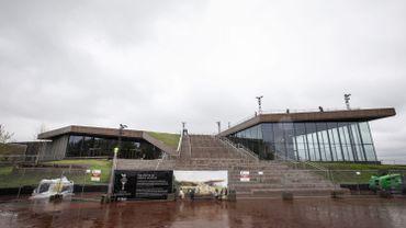 Le bâtiment du nouveau musée