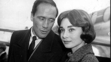 Audrey Hepburn avec son mari Mel Ferrer