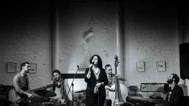 Chrystel Wautier et son band.