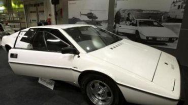 La voiture sous-marine de James Bond vendue 650.000 euros