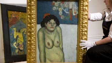 """""""La Gommeuse"""" de Pablo Picasso"""