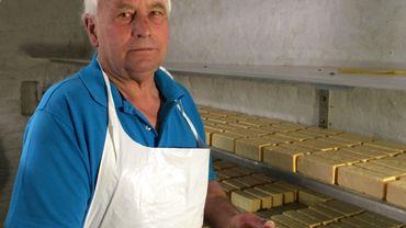 José Munnix, producteur de fromage de Herve au lait cru