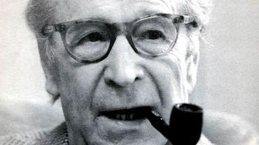 Georges Simenon en 1989