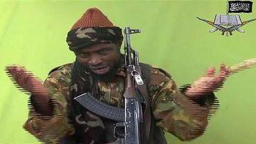 Capture d'écran réalisée le 12 mai 2014 d'une vidéo livrée par le groupe islamiste Boko Haram montrant Abubakar Shekau, le chef de la secte