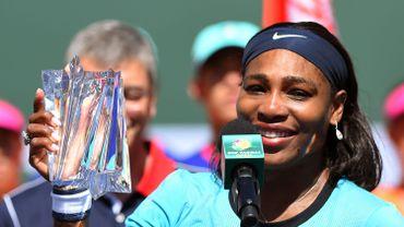 Serena Williams en tête du classement WTA, Wickmayer N.1 belge