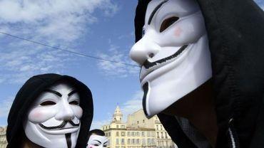 Anonymous a lancé une série de cyber-attaques