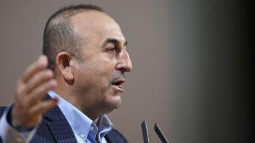 Le ministre turc des Affaires étrangères Mevlut Cavusoglu