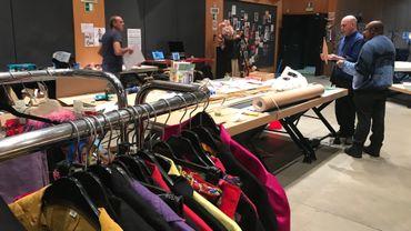 La confection et préparation des costumes a commencé pour le carnaval de Charleroi