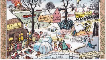 L'un des cartoons qui a obtenu le Grand prix PCB 2019/Knokke Heist