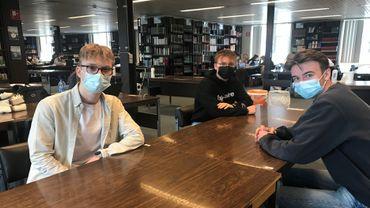 Confinement: de nombreux étudiants passent leur blocus à la bibliothèque pour briser l'isolement
