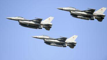 Des F-16 de la Défense belge