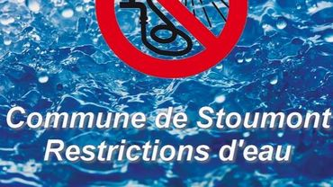 Stoumont: il faut limiter l'usage de l'eau