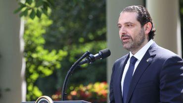 """Saad Hariri: """"Je sens que ma vie est visée"""""""