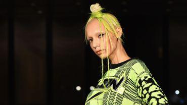 Chevelure citron vert Billionaire par Philipp Plein, collection  automne-hiver 2019-20