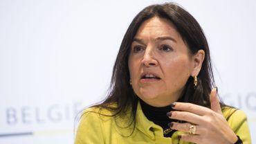 Marie-Christine Marghem, ministre fédérale de l'Énergie
