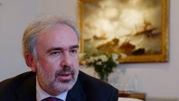 Didier Viviers, recteur de l'Université Libre de Bruxelles, en décembre 2013.