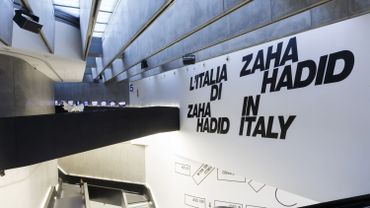 """""""Zaha Hadid in Italy"""" jusqu'au 28 janvier au Maxxi Museum de Rome"""