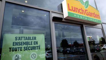 Restructuration chez Lunch Garden: quelques restaurants n'ont pas ouvert ce vendredi