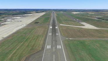 La piste de Liège Airport