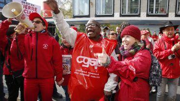 """Grève: """"irresponsable"""" pour le patronat, un """"succès"""" pour la CGSP"""