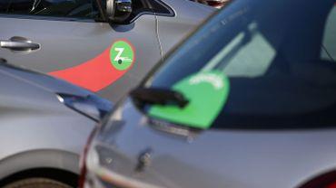 Les voitures marquée d'un Z vont disparaître à partir de février, Zipcar quitte Bruxelles