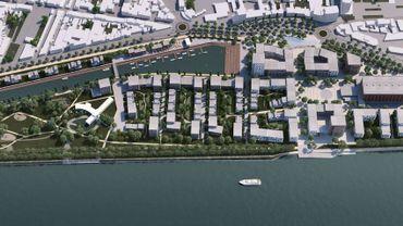 Liège: permis déposé pour l'éco-quartier de Coronmeuse