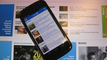 Nouvelles applications smartphones de la RTBF: plus rapides, plus pratiques, plus interactives