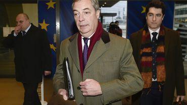 Le pro-Brexit Nigel Farage évoque un second référendum en Grande-Bretagne