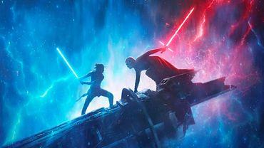 Affiche du neuvième et dernier opus de la Saga Star Wars centrée sur la famille Skywalker