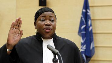 Fatou Bensouda, procureure de la Cour pénale internationale (CPI). Photo: BAS CZERWINSKI