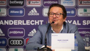 Marc Coucke présente son plan pour Anderlecht