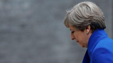La Première ministre britannique Theresa May le 9 juin 2017 à Londres