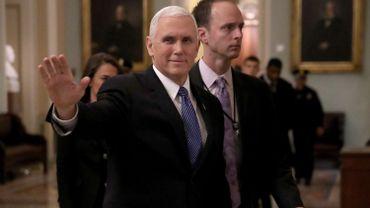 Le vice-président américain Mike Pence au Proche-Orient mi-janvier