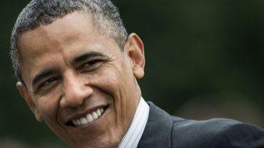 Barack Obama à Washington le 2 mai 2012