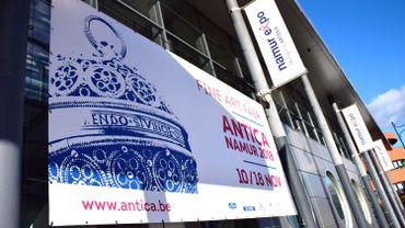 La foire Antica Namur Fine Art Fair, qui devait se tenir du 11 au 21 novembre 2020, est annulée.