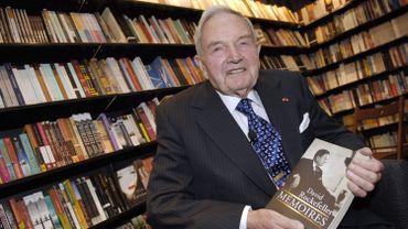 David Rockefeller en 2006