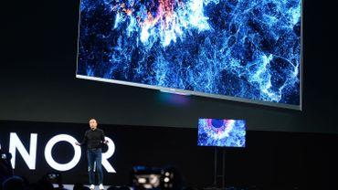 Huawei lance en Chine sa première télévision intelligente
