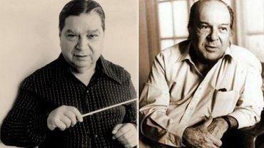 Cesar Guerra Peixe et Claudio Santoro (Montage : Nelly Portal)