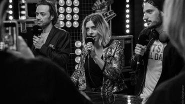 Le Warm-up et le Débrief de The Voice Belgique Live 3...