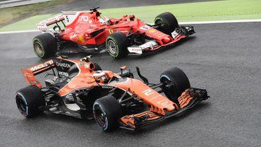 Vandoorne avec Vettel