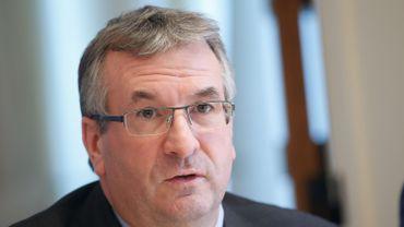 Le ministre de l'Emploi Pierre-Yves Jeholet
