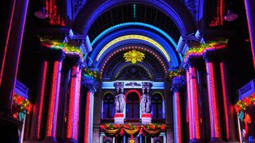 Christmas Lights - Dans le Palais de la Bourse de Bruxelles
