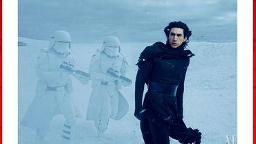 """Vanity Fair a également tweeté la photo du méchant de """"Star Wars"""""""